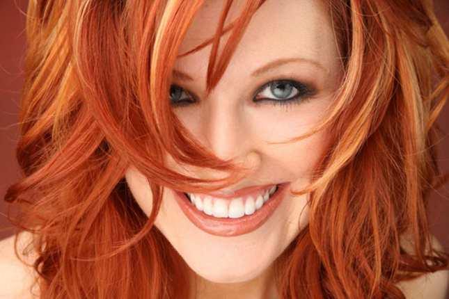 donne con capelli rossi
