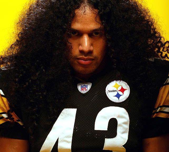 Giocatore americano si assicura i capelli